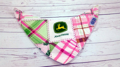 Jane Deere<br>Bandana Bib<br>Instock and Ready to Ship