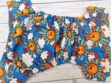 Sunshine (orange awj & snaps) <br>Traditional, One Size Pocket Diaper<br>Instock and Ready to Ship