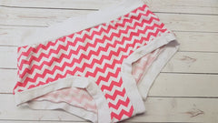 Pink Chevrons (white accent), sz xl <br>Mama Bella Bottoms<br>Instock and Ready to Ship
