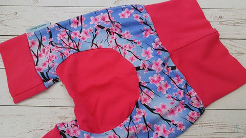 Cherry Blossom (pink accent) <br>Bella Bum Shorts <br>Instock and Ready to Ship