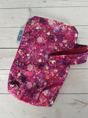 Magenta Glitter Glam, Mini Mama Wetbag<br>Instock and Ready to Ship