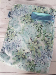Succulent Oasis<br>Diaper Bag Sized Wetbag<br>Instock and Ready to Ship