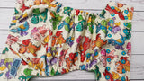Dancing Dragons (spring green awj, two toned snaps; marigold caps, aqua pieces) <br>Performance Knit Traditional, One Size Pocket Diaper<br>Instock and Ready to Ship