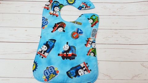 Train Buddies, Boutique Bib<br>Instock and ready to ship