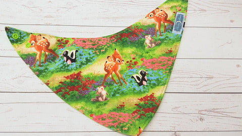 Meadow Friends <br>Bandana Bib<br>Instock and Ready to Ship