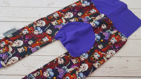 Evil Queens (puple accent) <br>Bella Bum Pants<br>Instock and Ready to Ship