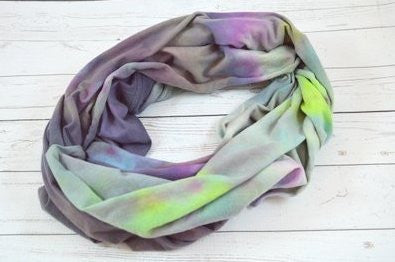 #2, Galaxy Quest Colorway<br>Light Infinity Scarf<br>Instock and Ready to ship