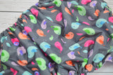 Tweetie Pie Traditional (hot pick snaps)<br>Traditional, One Size Pocket Diaper<br>Instock and Ready to Ship