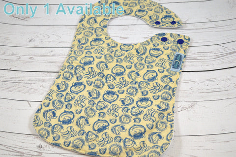 Wild Monster, Cotton Boutique Bib<br>Instock and ready to ship