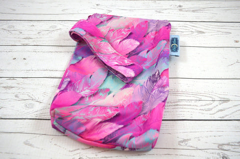 Fuschia Feathers, Mini Mama Wetbag<br>Instock and Ready to Ship