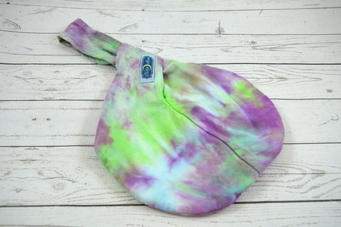 #2, Mermaid Colorway<br>Hand Dyed, Cotton Mama Satchel<br>Instock and Ready to Ship