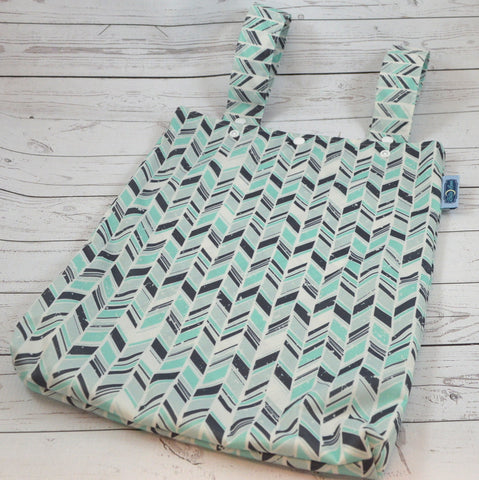 Rustic Ramble, Designer Printed Double Hanging Wetbag<br>Instock and Ready to Ship