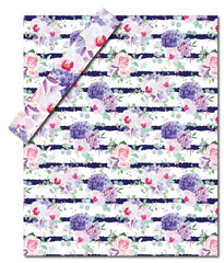 Purple Floral Arrangement<br>Wetbag Pre Order<br>Your Choice of Mama Mini, Diaper Bag Sized, or Double Hanging<br>*PRE ORDER*