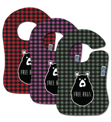 Free Hugs<br>Available in 3 colorways<br>Boutique Bib<br>*PRE ORDER*