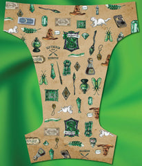Green House<br>Exclusive Poly Traditional<br>One Size Pocket Diaper OR Cover Pre Order