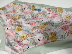 MUB 11-	Size Extra Large, Sage Flamingo, Bootyfit Mama Undies <br>Instock and Ready to Ship