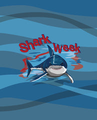 Shark Week<br>Wetbag Pre Order<br>Your Choice of Mama Mini or Diaper Bag Sized<br>*PRE ORDER*