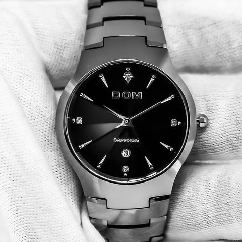 Dom - Indestructible Tungsten Steel Watch