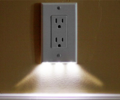 Night light outlet cover case scene night light outlet cover mozeypictures Image collections
