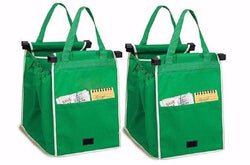(2) Earth-Friendly Reusable Shopping Bags