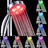 Temperature Sensitive LED Shower Head