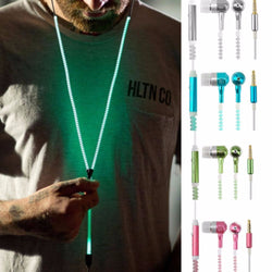Glowing Zipped Earphones