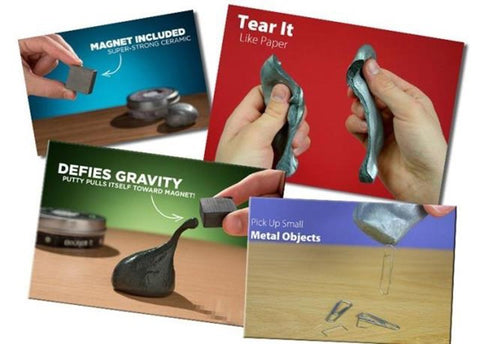 Magnetic Space Putty
