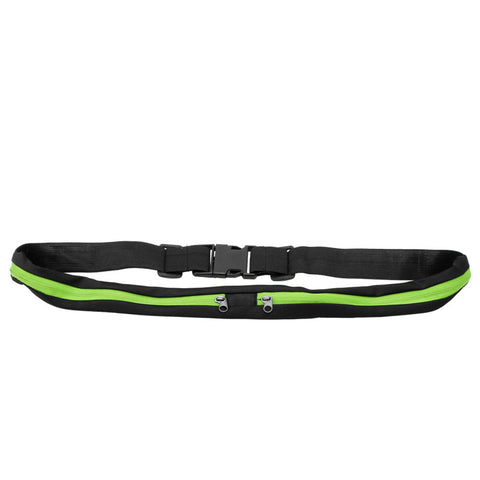 Double Pocket Sporting Waist Bag