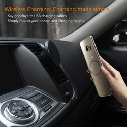 Magnetic Phone Holder and QI Charger