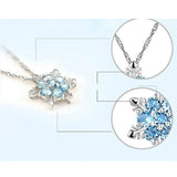 Frozen Flower Necklace