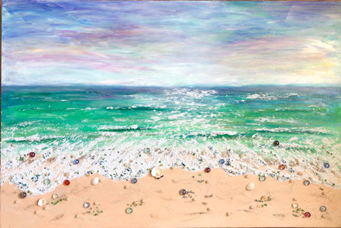 Blissful Ocean - Irina Collister Art