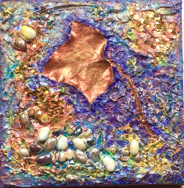 Copper leaf - Irina Collister Art