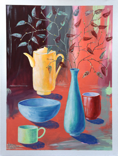 Coffee or tea? - Irina Collister Art