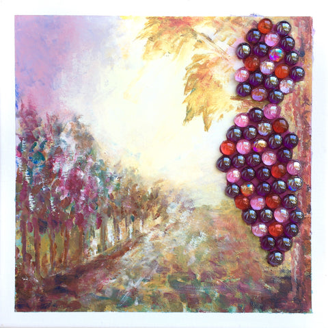 Delicious grapes. - Irina Collister Art