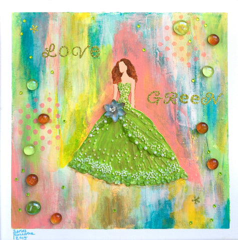 Love green! - Irina Collister Art
