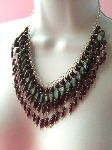 Necklace Jennét - Irina Collister Art