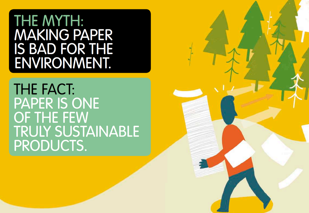 Addressing a Myth: Making Paper is Bad for the Environment