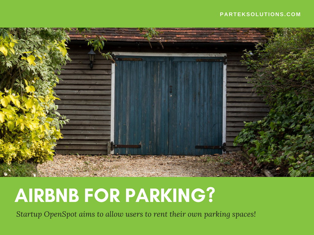 AirBnb For Parking?