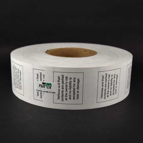 Metric Aura Pay & Display Rolls 6/case
