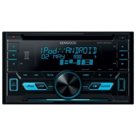 Kenwood DPX-3000U - Double Din CD MP3 USB iPhone & Android Direct Music