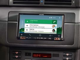 "Alpine BMW 3 Series E46 7"" Screen GPS Bluetooth CarPlay & Android Auto"