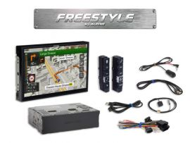 "Alpine X903D-F - Freestyle 9"" TomTom Navi CarPlay Andorid Auto Screen"