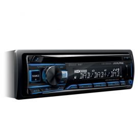 Alpine CDE-205DAB - CD MP3 DAB Tuner USB SmartPhone Ready Stereo