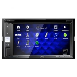"JVC KW-V255DBT 6.2"" Screen CD DVD Bluetooth DAB Stereo iPhone Stereo"