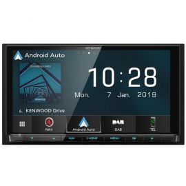 "Kenwood DNX9190DABS - 6.8"" HD GPS CarPlay Android Bluetooth DAB Stereo"