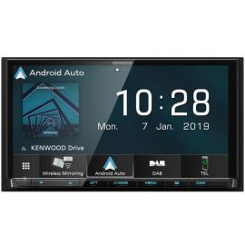"Kenwood DMX8019DABS - 7.0"" CarPlay Android Auto Bluetooth DAB Wifi Stereo"