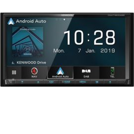 "Kenwood DNX7190DABS - 7"" CarPlay Android Auto Bluetooth DAB GPS Stereo"