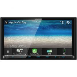 "Kenwood DMX8020DABS - 7"" Screen Bluetooth DAB+ Wifi CarPlay/ Android Stereo"