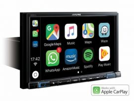 "Alpine X803D-U - 8"" Touch Screen Sat Nav with Apple CarPlay & Android"