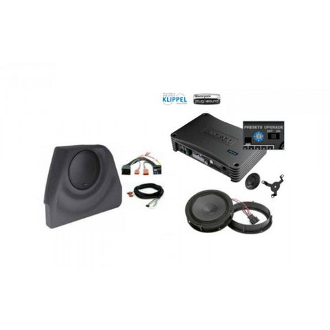 Audison Prima APSP G6 - Full OEM Speaker Upgrade with Custom Subwoofer MK6 GOLF PACKAGE